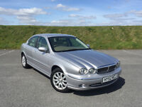 LOW MILEAGE! JAGUAR X-TYPE 2.0 V6 SPECIAL EDITION MANUAL WITH FULL SERVICE HISTORY AND A NEW MOT!