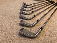 Titleist AP2 714 Forged irons 4 to PW - KBS stiff flex shafts - Free UK postage