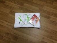 Wii Fit Board + 3 Games