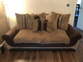 Material couch