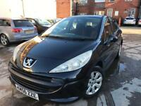 PEUGEOT 207 S 1.4 FULL SERVICE LONG MOT 2 KEYS 5Dr BLACK