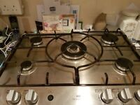New World gas oven,grill and hob