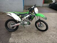 Kxf 450 fully road legal