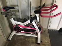 Active women Spin Bike