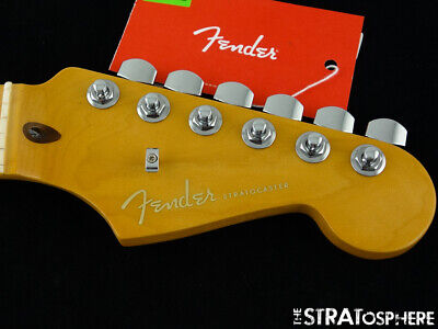 "Fender American Ultra Stratocaster Strat NECK+LOCKING TUNERS USA ""D"" Shape Maple"