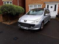 Peugeot 307 sw for sale/swap