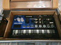 Korg Volca Nubass and cover