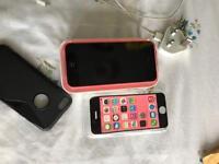IPhone 5c in pink unlocked