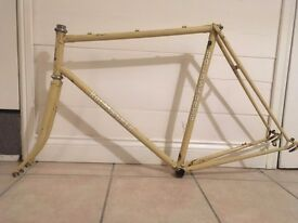 Holdsworth Bicycle frame Reynolds 531, handbuilt. would suit Eroica 1984