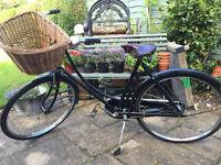 Pashley Princess Ladies Black Vintage Bicycle