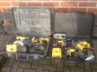 Dewalt combi set + 18v jigsaw Drill Circular saw