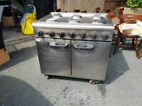 Commercial gas range oven for sale