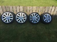 GTD Volkswagen Vancouver Style Alloy wheels 18 Inch Alloys (Fitment 5x112)