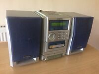 Aiwa LCX-137 Compact Disc Stereo System, CD Player, Tape Recorder £20 ONO