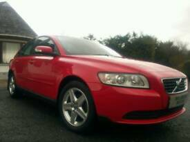 VOLVO S40 1.6S, FLAME RED, F.S.H, TIMING BELT REPLACED, LOW MILES, MOT'D, JUST SERVICED