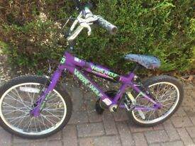 "Kids BMX, 18"" wheels"