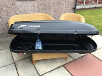 Roof Box KAMEI Delphin 340K in excellent condition