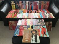 "Amazing collection of ""Top of the Pops"" albums - 70 in all....."