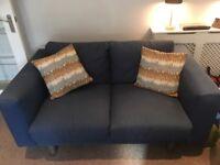 Blue IKEA 2-seater Sofa
