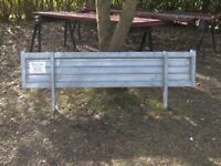 NEW/UNUSED GALVANISED STEEL TRAILER 6FT-6IN HEADBOARD (2 AVAILABLE)..