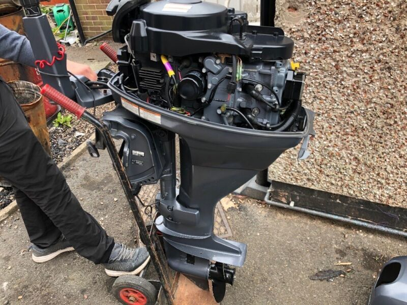 Yamaha 25 hp four stroke , used for sale  Ripley, Derbyshire