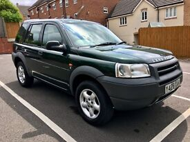 2001 LAND ROVER FREELANDER 1.8 S ONLY 43K MILES!! 1 PREVIOUS OWNER!