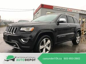 2015 Jeep Grand Cherokee OVERLAND   ONLY 19K   NAVI   PANO ROOF