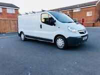 vauxhall vivaro 1.9diesel 60 plate2011 comes with 6 months warranty and full history service