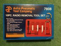 Astro tools car radio removal set