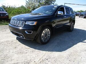 2017 Jeep Grand Cherokee OVERLAND - 4x4, 3.6L V6 **DEMO**