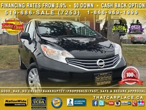 2015 Nissan Versa SV Versa/Note-$54wk-Bluetooth-Cruise-Keyless E