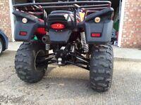 ROAD LEGAL APACHE RLX 320 UTILITY QUAD BIKE FOR SALE