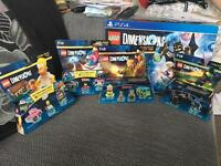 PS4 Lego Dimensions Starter Pack & add ons