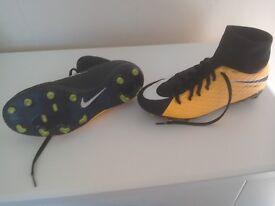 Boy's Hypervenom Nikeskin Football Boots