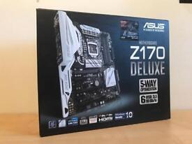 Asus Z170 deluxe motherboard