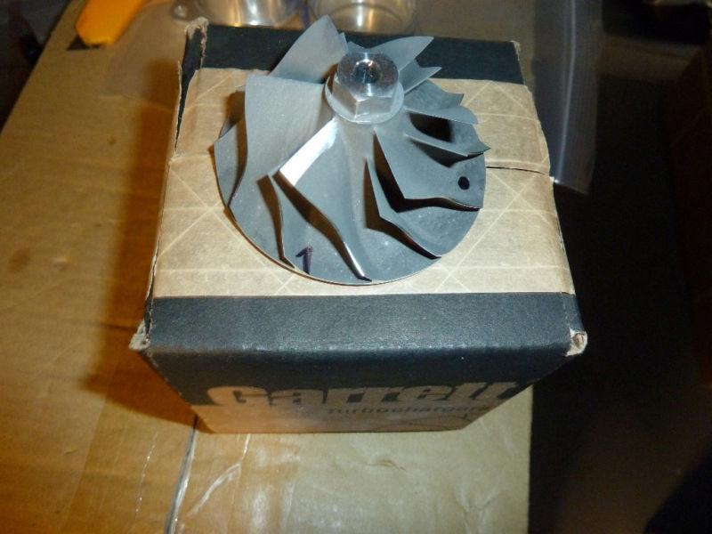 Garrett Compressor Turbo Wheel, T3/t4 60-1 Genuine Parts Pn: 409535-0001