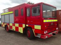 1995 Dennis Fire Tender with Control Centre & Equipment