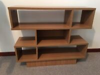 Knot display picture, coat stand, display unit, Roman blinds lined,