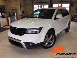 2017 Dodge Journey *CROSSROAD*AWD*DVD*CUIR*TOIT OUVRANT*GPS*7 PA