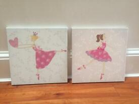 Two ballerina pictures