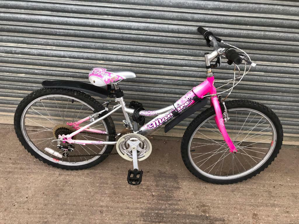 "98a22131328 Falcon Montare 25"" Wheels Girls Bike. Serviced, Great Condition, Free Lock,  Lights, Delivery"