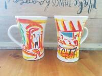 Nescafe coffee collectable mugs