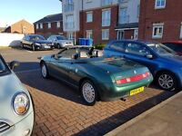 Convertible Alfa Romeo Spider. Low Mileage. Great runner.
