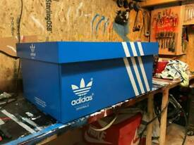 Adidas trainer storage box
