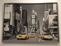 Beautiful IKEA New York picture with frame