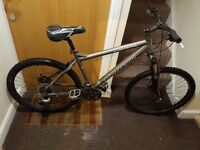 Carrera Subway Mountain Bike with 26 inch wheel size and 19 inch frame size.