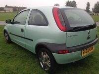 Stunning very clean example Vauxhall corsa 1.2 year mot px to clear drives great low miles