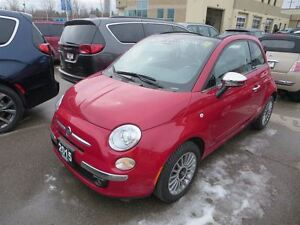2015 Fiat 500C Lounge - Convertible  leather  bluetooth