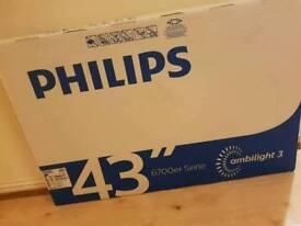 Philips 43' 4k smart
