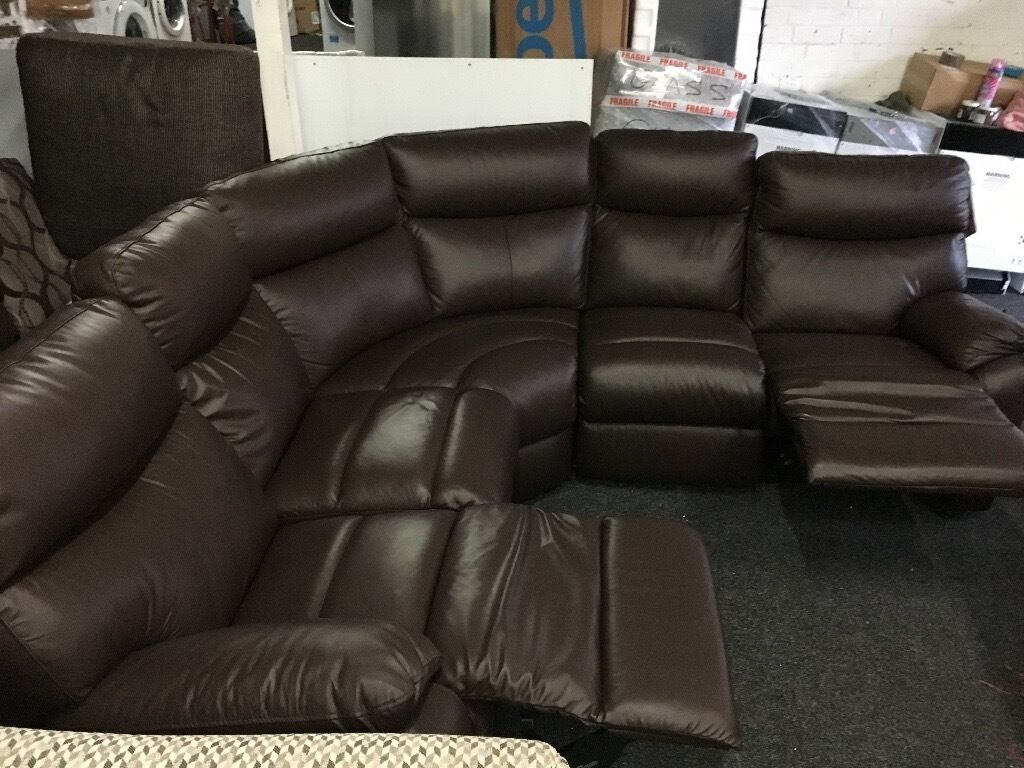 New/Ex Display LazyBoy Recliner Corner Sofa [ left or right corner sofa ]